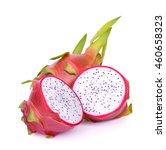dragon fruit on white background | Shutterstock . vector #460658323