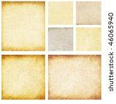 aged paper set | Shutterstock . vector #46065940