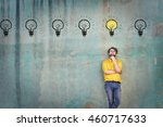 the best idea | Shutterstock . vector #460717633