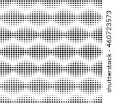 seamless halftone pattern.... | Shutterstock .eps vector #460723573