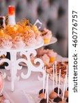 delicious wedding reception... | Shutterstock . vector #460776757