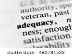 Small photo of Adequacy