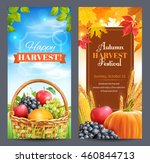 two vertical banners for...   Shutterstock .eps vector #460844713