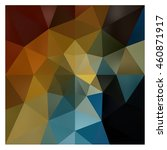 low polygon triangle pattern... | Shutterstock . vector #460871917