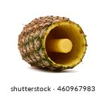 A Pineapple Has Been Cored And...
