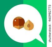 hazelnut and half | Shutterstock .eps vector #460982773