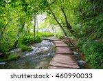 plitvice lakes of croatia  ... | Shutterstock . vector #460990033