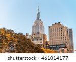 midtown manhattan  aerial view... | Shutterstock . vector #461014177