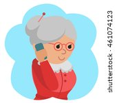 vector illustration in flat... | Shutterstock .eps vector #461074123