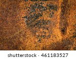 corroded  metal background. | Shutterstock . vector #461183527