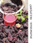 Small photo of Dry roselle and roselle juice