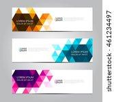 vector design banner... | Shutterstock .eps vector #461234497