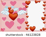 valentine day design | Shutterstock .eps vector #46123828