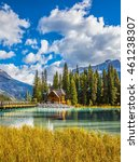 yoho national park  canada.... | Shutterstock . vector #461238307