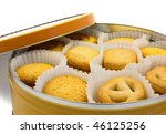 Danish Biscuit In A Round Box...