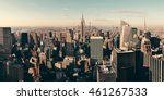 new york city skyscrapers... | Shutterstock . vector #461267533