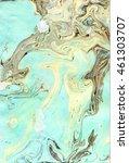Suminagashi Marble Pattern Sea...