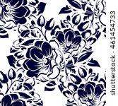 abstract elegance seamless... | Shutterstock . vector #461454733