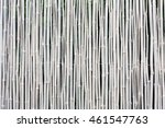 White Bamboo Fence Texture...