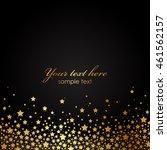 vector background with gold... | Shutterstock .eps vector #461562157