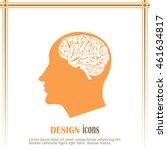 brain icon | Shutterstock .eps vector #461634817