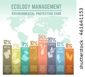 waste and ecology management... | Shutterstock .eps vector #461641153