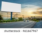 billboard blank for outdoor... | Shutterstock . vector #461667967