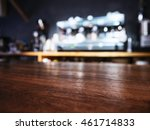 table top counter bar pub... | Shutterstock . vector #461714833