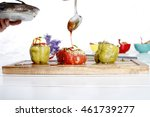 turkish asian traditional... | Shutterstock . vector #461739277