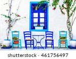 traditional greece series  ... | Shutterstock . vector #461756497