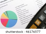 Small photo of Investment Allocation Graph & Calculator