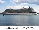 southampton july 31 2016 cruise ... | Shutterstock . vector #461790967