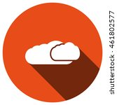 cloud icon  vector  icon flat