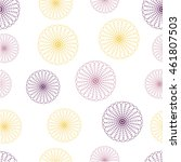 seamless floral colorful vector ...   Shutterstock .eps vector #461807503