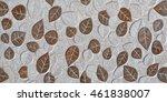 background ornate tiles   Shutterstock . vector #461838007
