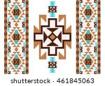 abstract ethnic pattern.... | Shutterstock .eps vector #461845063