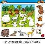 cartoon illustration of... | Shutterstock .eps vector #461876053
