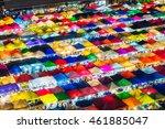 ratchada night train market ... | Shutterstock . vector #461885047