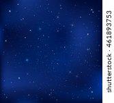 blue dark night with stars ... | Shutterstock .eps vector #461893753