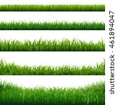 grass frame  vector illustration | Shutterstock .eps vector #461894047