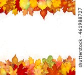 Autumn Background With Colorfu...