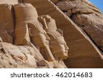Small photo of Abu Simbel Ramses. The temple complex of Abu Simbel Statue of Ramses, Egypt