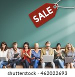 sale discount label tag... | Shutterstock . vector #462022693