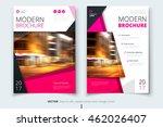 catalog cover design. corporate ... | Shutterstock .eps vector #462026407