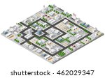 top view of the construction... | Shutterstock .eps vector #462029347