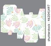 gift wedding favor die box... | Shutterstock .eps vector #462041497