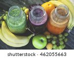 Fresh Juices Smoothie Red Gree...