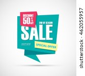 sale  this weekend special... | Shutterstock .eps vector #462055957