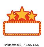 label lights show cinema icon... | Shutterstock .eps vector #462071233