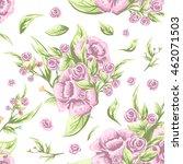 vintage old style wallpaper... | Shutterstock .eps vector #462071503